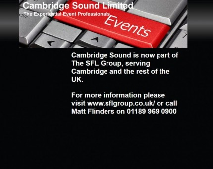 Cambridge Sound Ltd