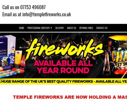 Temple Fireworks Ltd