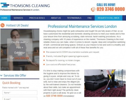 Thomsons Cleaning Ltd.