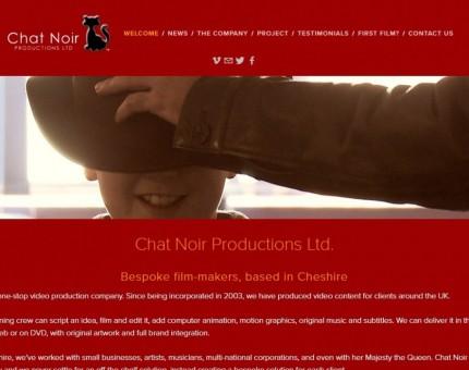 Chat Noir Productions Ltd - Video Production Cheshire