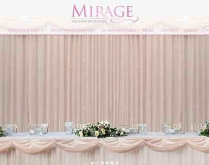 Mirage Wedding Backdrops