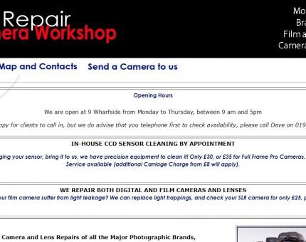 Camera Repair Workshop