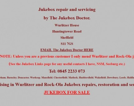 The Jukebox Doctor