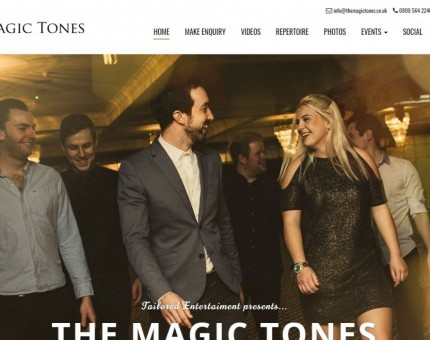 Wedding Band Hampshire The Magic Tones