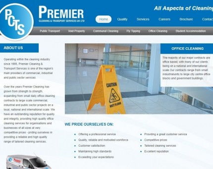 Premier Cleaning & Transport Services UK Ltd
