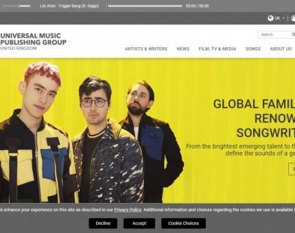 Universal Music Publishing Ltd