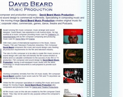 David Beard Music Production