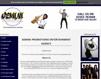 Gemini Promotions Entertainment Agency