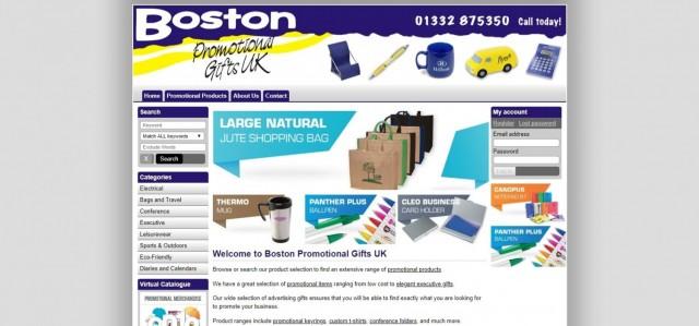 BOSTON Promotional Gifts UK