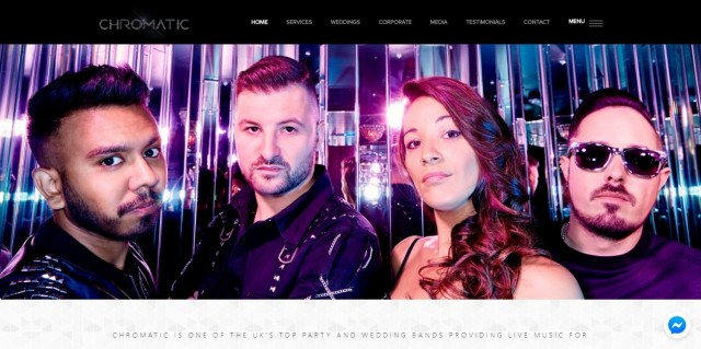 Chromatic - wedding and corporate party band