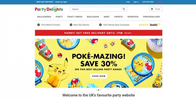 Party Delights Ltd