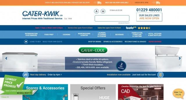 Caterkwik Ltd Catering Equipment Supplier