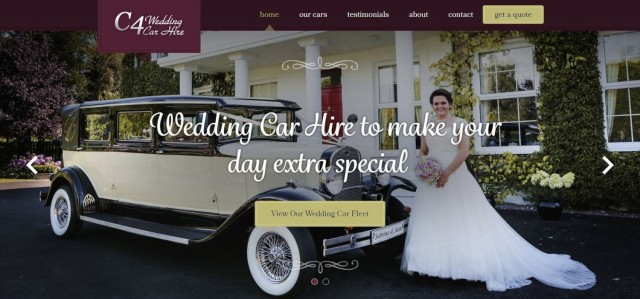 C4 Wedding Car Hire