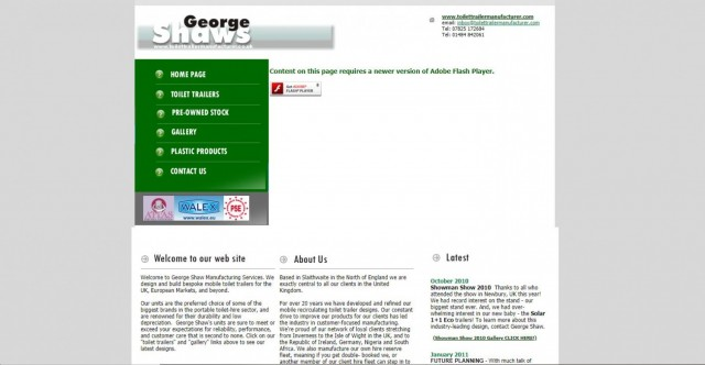 George Shaw Manufacturing Services.