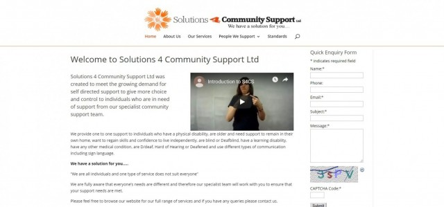 Solutions 4 Community Support Leicester Ltd