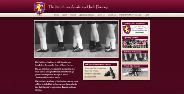The Matthews Academy Of Irish Dancing