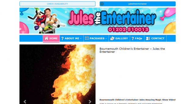 Jules The Entertainer
