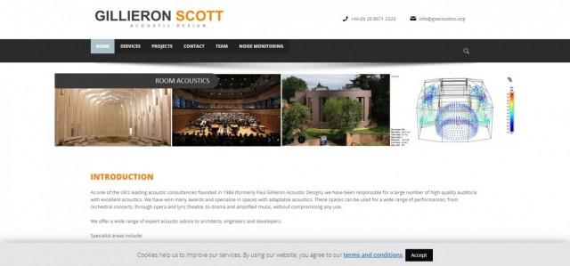 Gillieron Scott Acoustic Design Ltd