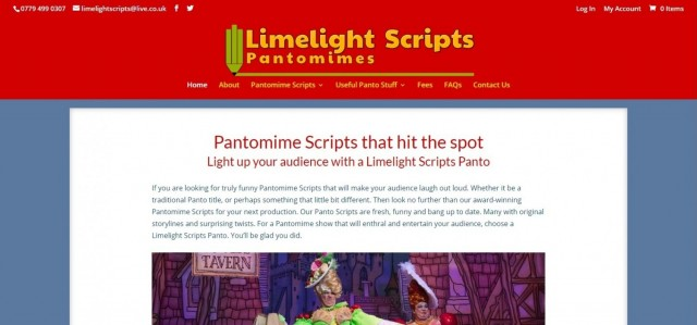 Pantomime Scripts - Limelight Scripts