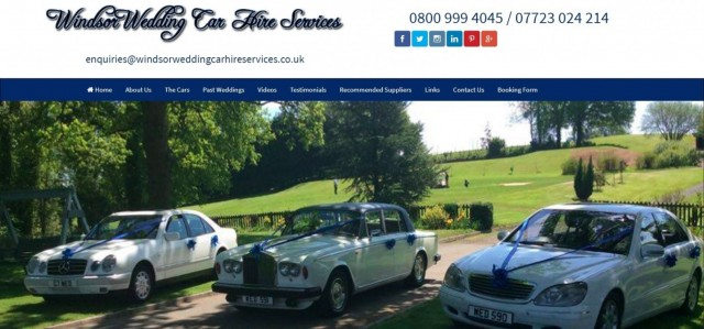 Windsor Wedding Car Hire