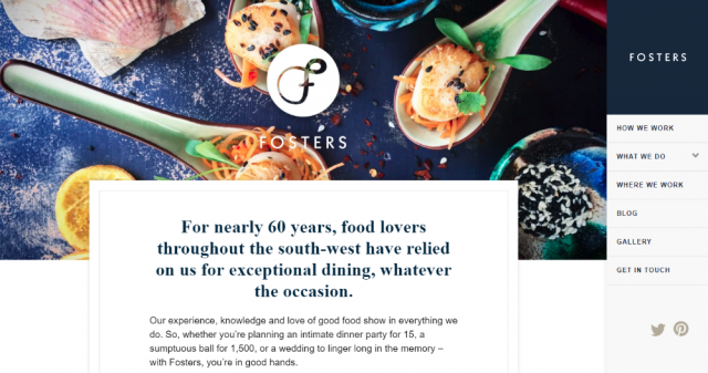 Fosters Event Catering