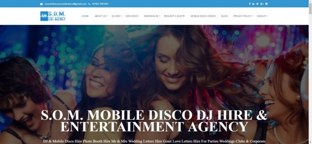 Disco Hire London DJ Hire & Mobile Disco For Parties & Corporate Events