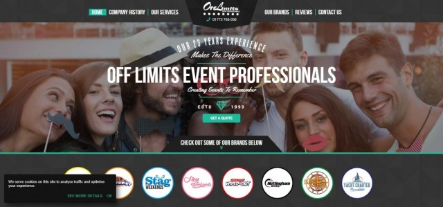 Off Limits Team Building events