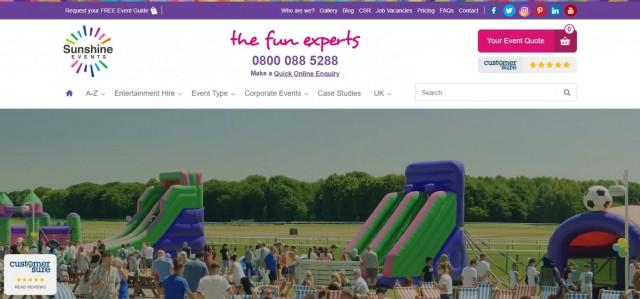 Sunshine Events UK Ltd