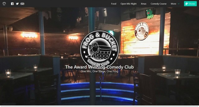 Frog and Bucket Comedy Clubs