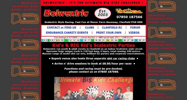 Bolwextric Slot Car Racing