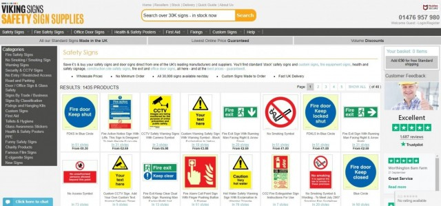 Safety Sign Supplies