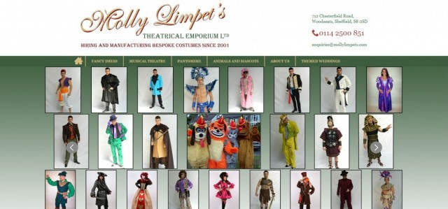 Molly Limpet's Costume Hire