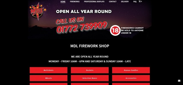 MDL Fireworks Ltd