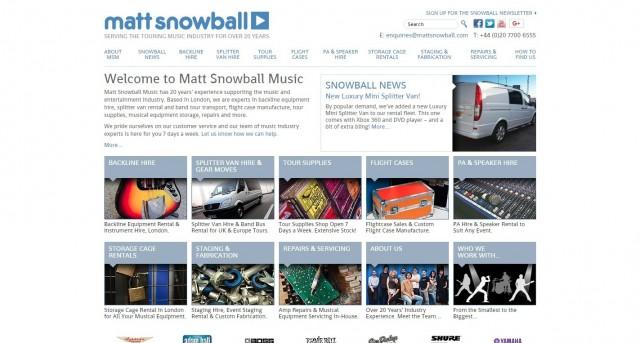 Matt Snowball Music