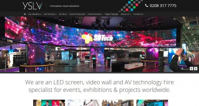 YSL Videowall Hire Ltd