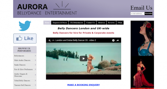 Aurora Entertainment UK