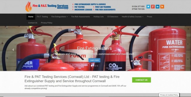 Fire & PAT Testing Services Cornwall Ltd