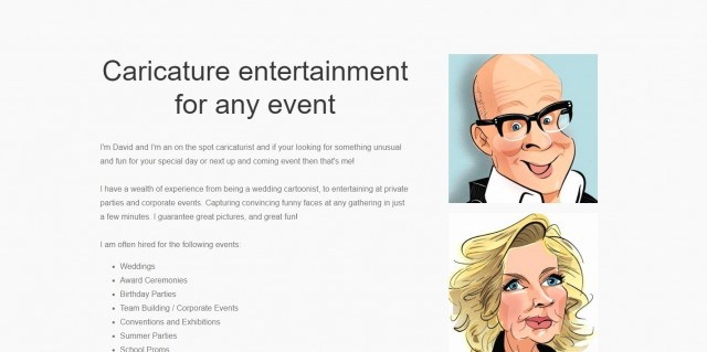 Groves Cartoons and Caricatures