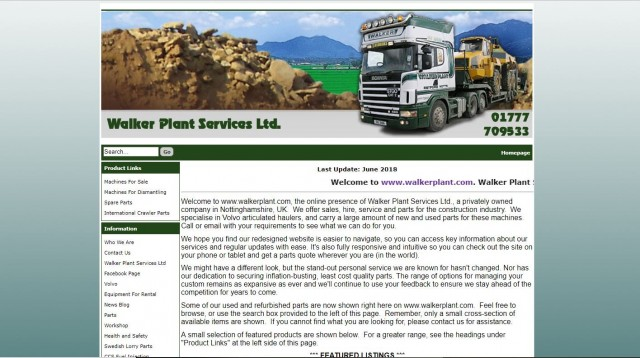 Walker Plant Services Ltd.