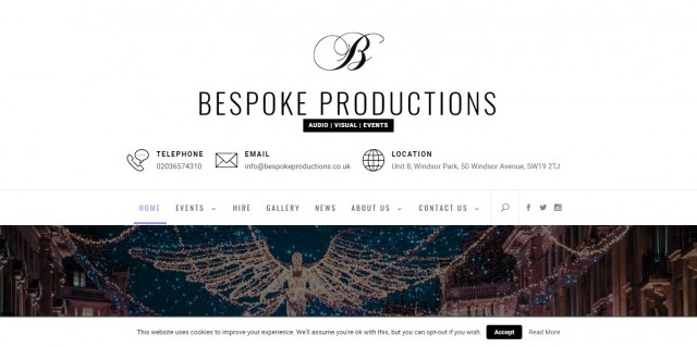 Bespoke Production Services Ltd