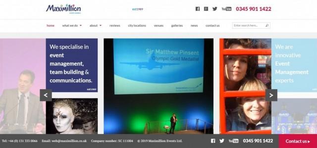 Maximillion - Team Building and Event Management