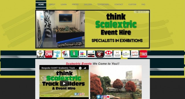 Think Scalextric Events