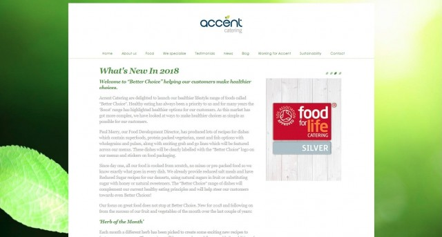 Accent Catering Services Ltd
