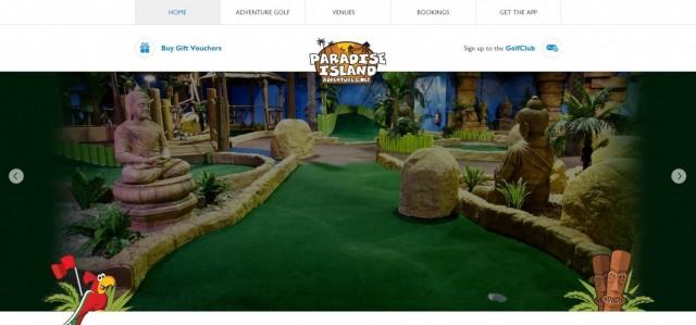 Paradise Island Adventure Golf - Manchester