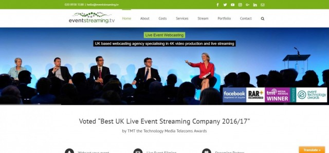 EventStreaming.TV - Webcasting Company