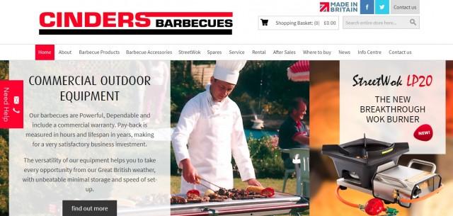 Cinders Barbecues Ltd