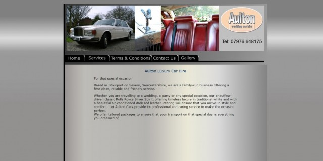 Aulton Wedding Car Hire