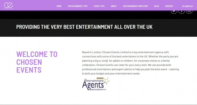 Chosen Events Ltd