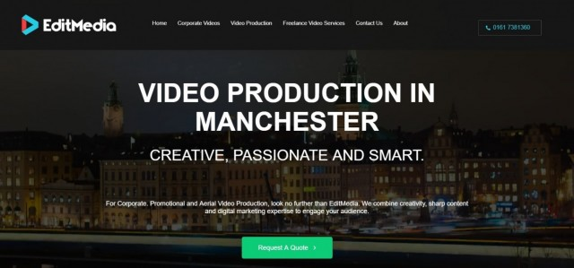 Edit Media - Video Production Manchester