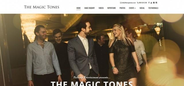 Wedding Band Hampshire - The Magic Tones